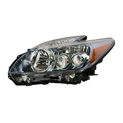 Driver Side Headlight Assembly; Led Bulbs; From 022010