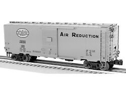 Lionel Trains 6-82625 Air Reduction Ps-1 Boxcar 100, O Gauge New In Box