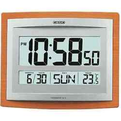 Casio Wall Clock Thermometer And Calender Id15-5d Id-15-5d Id-15s-5d
