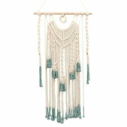 Macrame Wall Hanging Handmade Woven Art Tapestry Bohemian Decor Home Apartment