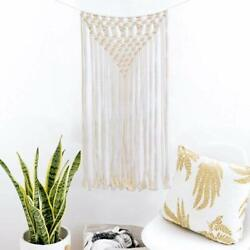 Macrame Wall Hanging Woven Art Tapestry Boho Home Decor Apartment Dorm Gallery