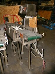 Ramsey Icore Mark Ii In Line Checkweigher 10 Wide Belt By 6and039 Long In Nj