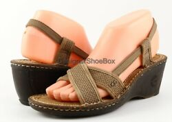$100 UGG Australia MAYLEY Fawn Designer Shoes Wedge Sandals EUR 41 US 10 $44.99