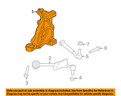 FORD OEM 15-18 Mustang Front Suspension-Knuckle Right FR3Z3K185AB