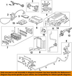 HONDA OEM 14-15 Accord-Control Unit 1B0005K1A07