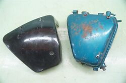 Early 1968 1969 Triumph Trident Oil Tank Side Cover Stock Paint T150 T 150 T150r