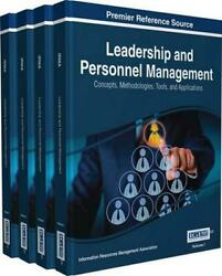 Leadership And Personnel Management Concepts, Methodologies, Tools, And Applica
