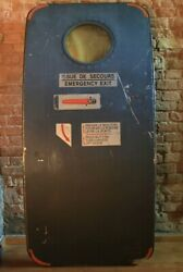 Emergency Door from the C-160 Aircraft