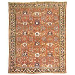 Room Size Persian Mahal Rug With An All-over Motif