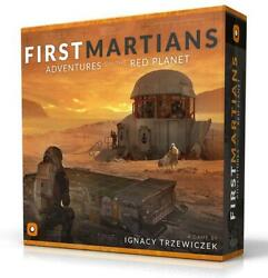 Firt Martians Adventures On The Red Planet - Portal Games Free Shipping