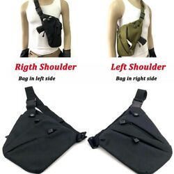 Multifunctional Concealed Tactical Storage Gun Bag Holster Anti-theft Bag Chest $9.50