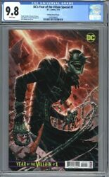Dcand039s Year Of The Villain Special 1 1500 Variant Batman Who Laughs Cgc 9.8