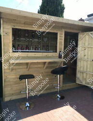 Garden Bars Made To Measure / All Sizes Made / Man Cave / Gin Bar