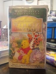 The Many Adventures Of Winnie The Pooh Vhs 1996