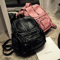 2019 New Fashion Shoulder Bags Womens Faux Leather Backpacks Girls Small Satchel $47.79