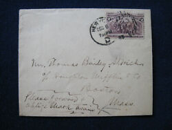 Original Autograph Envelope Signed From Mark Twain To Thomas Bailey Aldrich