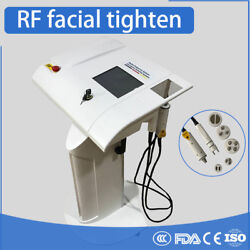 Stand Radio Frequency Rf 2probes 7tips Heads Skin Tighten Lifting Beauty Machine