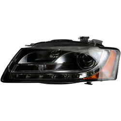 AU2502164 Driver Side Head Lamp Assembly HID wCurve Lamp wo Controller