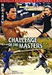 Challenge Of The Masters Hong Kong Kung Fu Martial Arts Action Movie Dvd Dubbed
