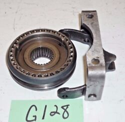 Used Oem Triumph Tr7/tr8 5 Speed Gearbox 5th Gear Shift Fork And Synchro Hub G128