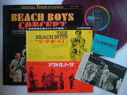 Red Vinyl / The Beach Boys Concert / With Ticket And Tour Info Sheet 1966