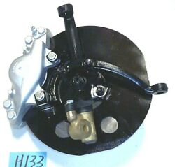 Reman Oem .. '56 - '62 Triumph Tr3 - Tr4 Left Front Axle And Brake Assembly H133