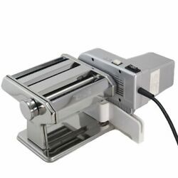 Shule Electric Pasta Maker Machine With Motor Set Stainless Steel Pasta Roller
