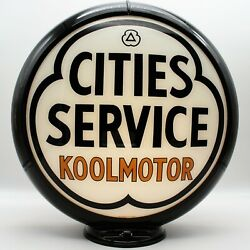 Cities Service Koolmotor Gas Pump Globe - Ships Assembled - Ready For Your Pump