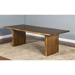 Sunny Designs 1046NW Carey Live Edge Table Nature Walk NEW