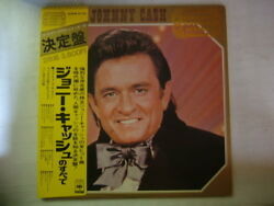 Johnny Cash Golden Double Series / 2lp With Obi Complete