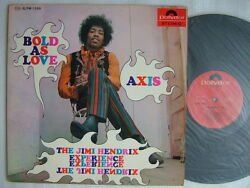 The Jimi Hendrix Experience Axis Bold As Love / Diff Cover