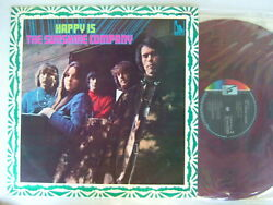 Red Vinyl / The Sunshine Company Happy Is / Diff Cover Psych Mint Vinyl
