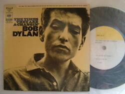 Bob Dylan The Times They Are A-changin / Sopd53 7 33rpm Ps Ep