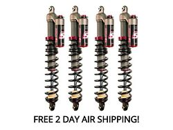 Elka Stage 5 Front and Rear Shocks Suspension Kit Yamaha Grizzly 700 2007-2013