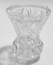 Vintage Crystal And Cut Glass Salts, Toothpick And Candleholders