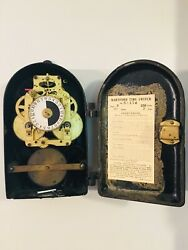Antique Hartford Time Switch Seth Thomas New York N.Y. 1909 A. Hall Berry