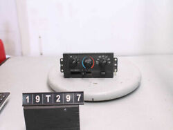 99 00 01 02 VILLAGER TEMPERATURE CLIMATE CONTROL SWITCH XF5H-19C733 19T297