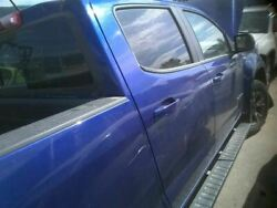 Passenger Rear Side Door Crew Cab Electric Fits 15-18 CANYON 7972670