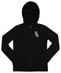 Outerstuff MLB YouthKids Chicago White Sox Performance Full Zip Hoodie $39.99
