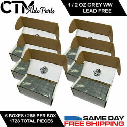 6 Box 1728 Pieces 1/2 Oz Wheel Weights Stick On Adhesive Tape