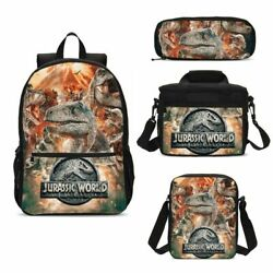 Jurassic World Dinosaur Backpacks Insulated Lunch Bag Pen Case Shoulder Bag Lot $17.99