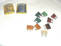 Ms1511 - Lot Of 18 Atc Blade Type Fuses For Car Truck