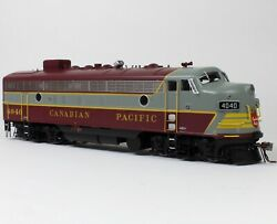 Rapido Ho Gmd Fp7 W/ Dcc And Sound Canadian Pacific Cp Block