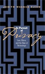In Pursuit of Privacy (Hardback or Cased Book)