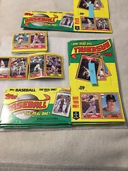 Topps Baseball The Real One Bubblegum Card Boxes /3/3/1/4/11 Total