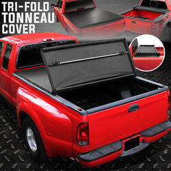 For 93-04 Ford Ranger Flareside 6ft Bed Tri-fold Soft Top Trunk Tonneau Cover