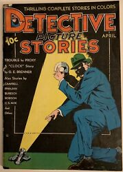 1937 Detective Picture Stories 5 Bruce Wayne Prototype By Bob Kane Pre 27