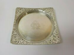 Gorham Japanesque Sterling Silver Aesthetic Movement 7.5 Tray, C. 1879