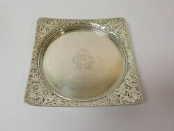 Gorham Japanesque Sterling Silver Aesthetic Movement 7.5 Tray C. 1879