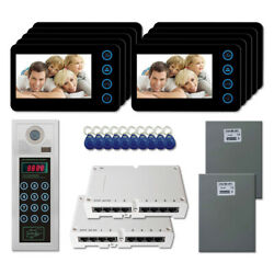 Home Security Apartment Video Intercom System Kit With 10 5 Color Monitor